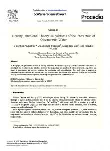 Density Functional Theory Calculations of the