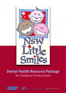 dental health resource package for childcare professionals