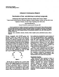 Deoximation of keto- and aldoximes to carbonyl compounds - NOPR