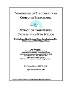 department of electrical and computer engineering ...