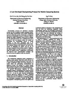 Dependable Computing, 2002. Proceedings. 2002 ... - Semantic Scholar