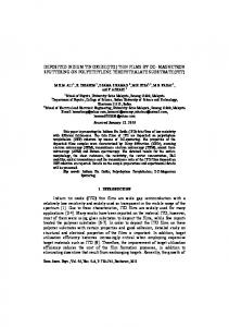 DEPOSITED INDIUM TIN OXIDE (ITO) THIN FILMS BY DC ...