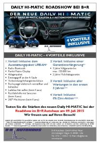 DER NEUE IVECO DAILY 2014 DAILY HI-MATIC ROADSHOW BEI ...