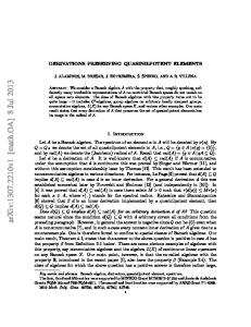 Derivations preserving quasinilpotent elements