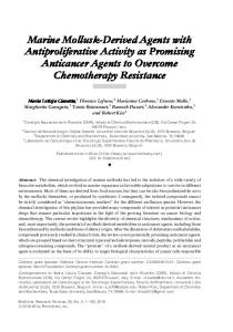 Derived Agents with Antiproliferative Activity as