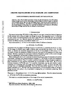 Derived equivalences of K3 surfaces and orientation