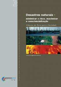 Desastres naturais - - International Year of Planet Earth