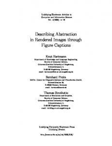 Describing Abstraction in Rendered Images ... - Semantic Scholar