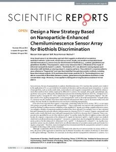 Design a New Strategy Based on Nanoparticle