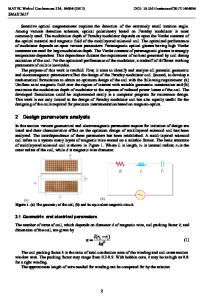 Design and Analysis of Multilayer Solenoid Coil for Faraday ...www.researchgate.net › publication › fulltext › Design-an