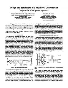Design and benchmark of a Multilevel Converter for ...