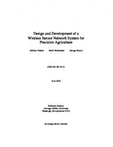 Design and Development of a Wireless Sensor Network System for