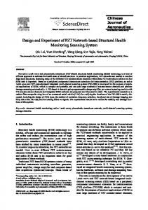 Design and Experiment of PZT Network-based ... - CyberLeninka