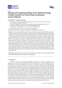 Design and Implementation of an Optimal Energy Control System for