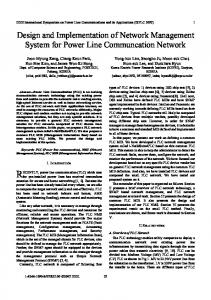 Design and Implementation of Network Management ... - IEEE Xplore