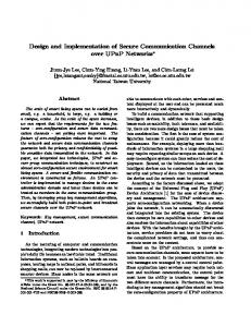 Design and Implementation of Secure ... - Semantic Scholar