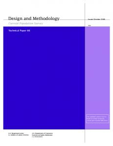 Design and Methodology - Census Bureau