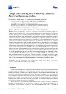 Design and Modeling of an Adaptively Controlled ... - Semantic Scholar