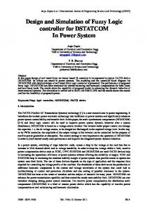 Design and Simulation of Fuzzy Logic controller ... - IDC Technologies