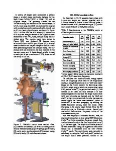 DESIGN AND TEST OF 704 MHz AND 2.1 GHz ... .orgwww.researchgate.net › publication › fulltext › Design-an