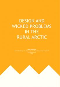 Design and Wicked Problems in the Rural Arctic (PDF Download ...