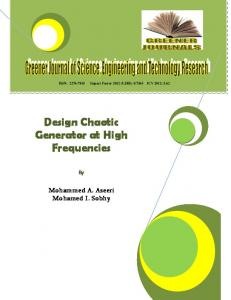 Design Chaotic Generator at High Frequencies