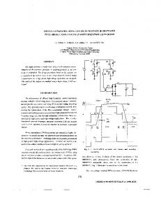 Design considerations for high-voltage high-power full-bridge zero ...