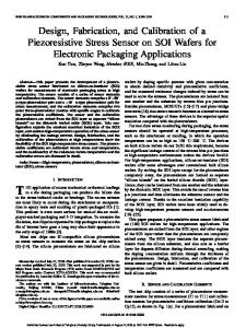 Design, Fabrication, and Calibration of a