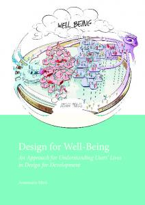 Design for Well-Being