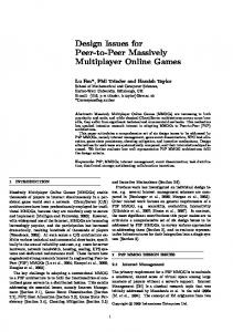 Colyseus: A Distributed Architecture for Online Multiplayer