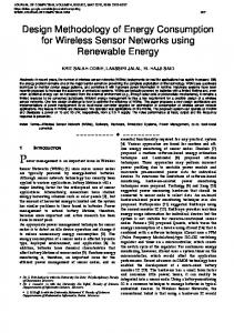 Design Methodology of Energy Consumption for ...