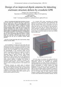 Design of an improved dipole antenna for detecting ... - IEEE Xplore