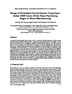 Design of Embedded Control System Using Super
