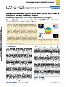 Design of Lanthanide-Doped Colloidal Nanocrystals