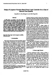 Design of Lyapunov Function Based Fuzzy Logic Controller for a