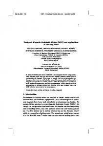 Design of Magnetic Switchable Device (MSD) and