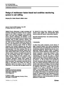 Design of multisensor fusion-based tool condition monitoring system ...