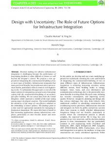 Design with Uncertainty: The Role of Future ... - Wiley Online Library