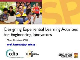 Designing Experiential Learning Activities for ...