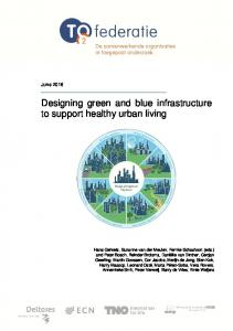 Designing green and blue infrastructure to support ... - Publications