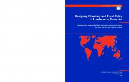Designing Monetary and Fiscal Policy in Low-Income Countries ...
