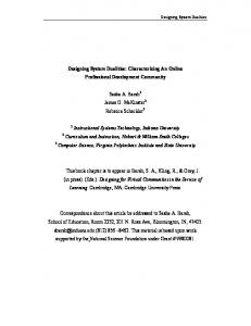 Designing System Dualities: Characterizing An Online Professional ...