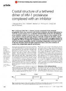 Detailed ab initio prediction of lysozyme-antibody complex ... - Nature