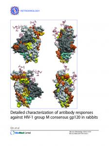 Detailed characterization of antibody responses against HIV-1 group ...