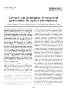 Detection and identification of monoclonal