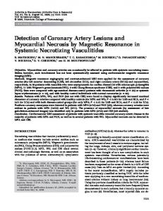 Detection of coronary artery lesions and ... - Wiley Online Library