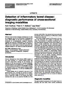 Detection of inflammatory bowel disease: diagnostic ... - BioMedSearch