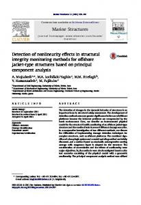 Detection of nonlinearity effects in structural integrity