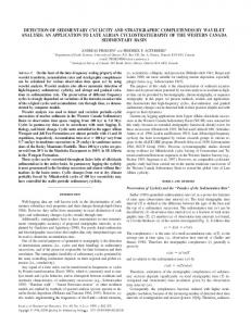 detection of sedimentary cyclicity and stratigraphic ... - GeoScienceWorld