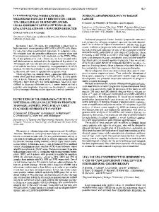 Detection of Telomerase Activity in Epithelial Cells ...